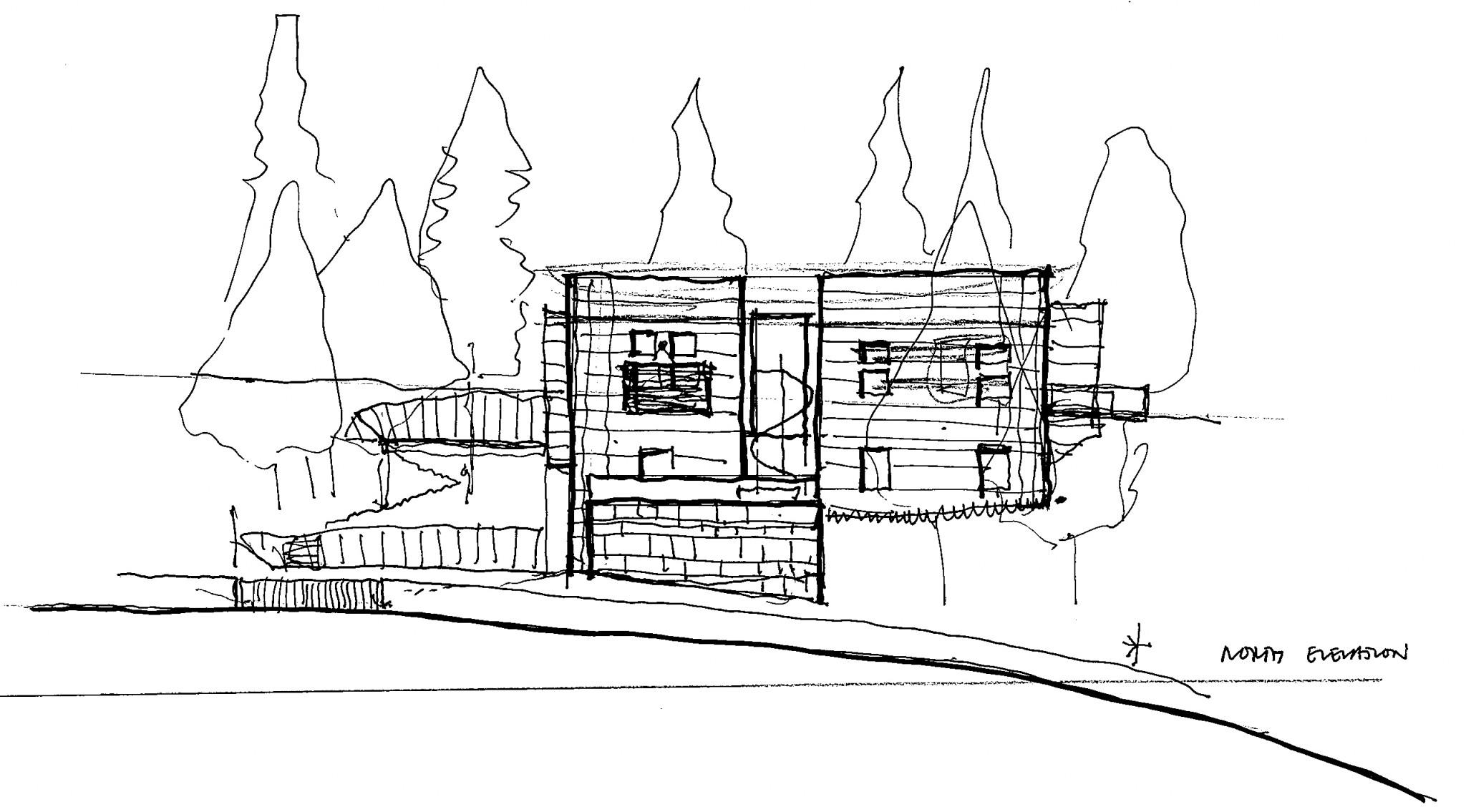villa maria sketch by darling associates