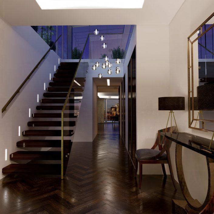 Southbridge Apartments: One Tower Bridge, Interiors By Darling Associates