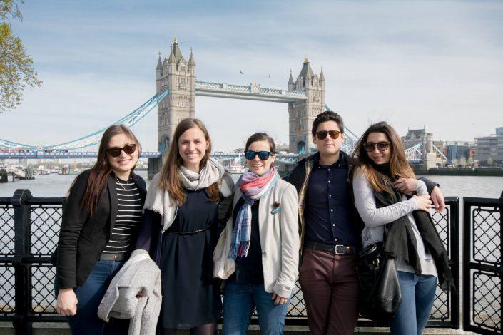 DA takes a walking tour of London