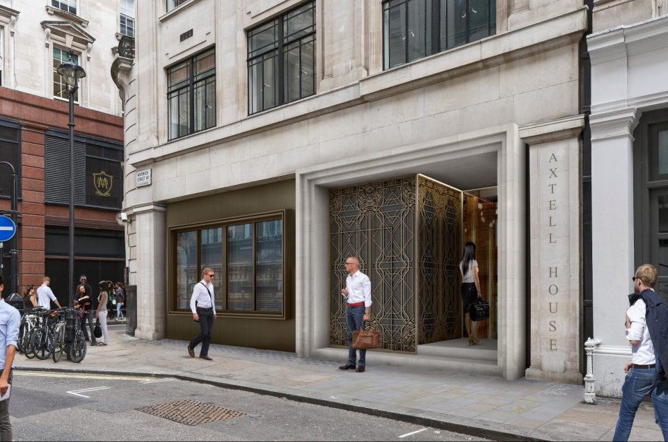 Planning approval for Axtell House office development in Soho