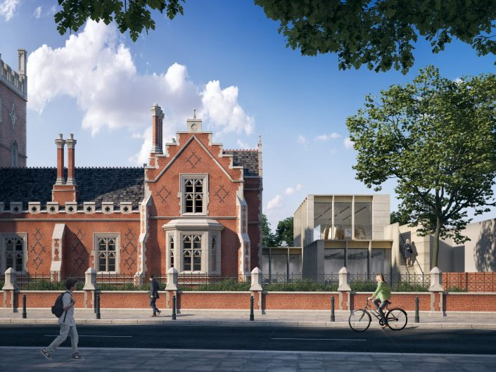 DA to restore landmark Castle Club into original historic use as a school