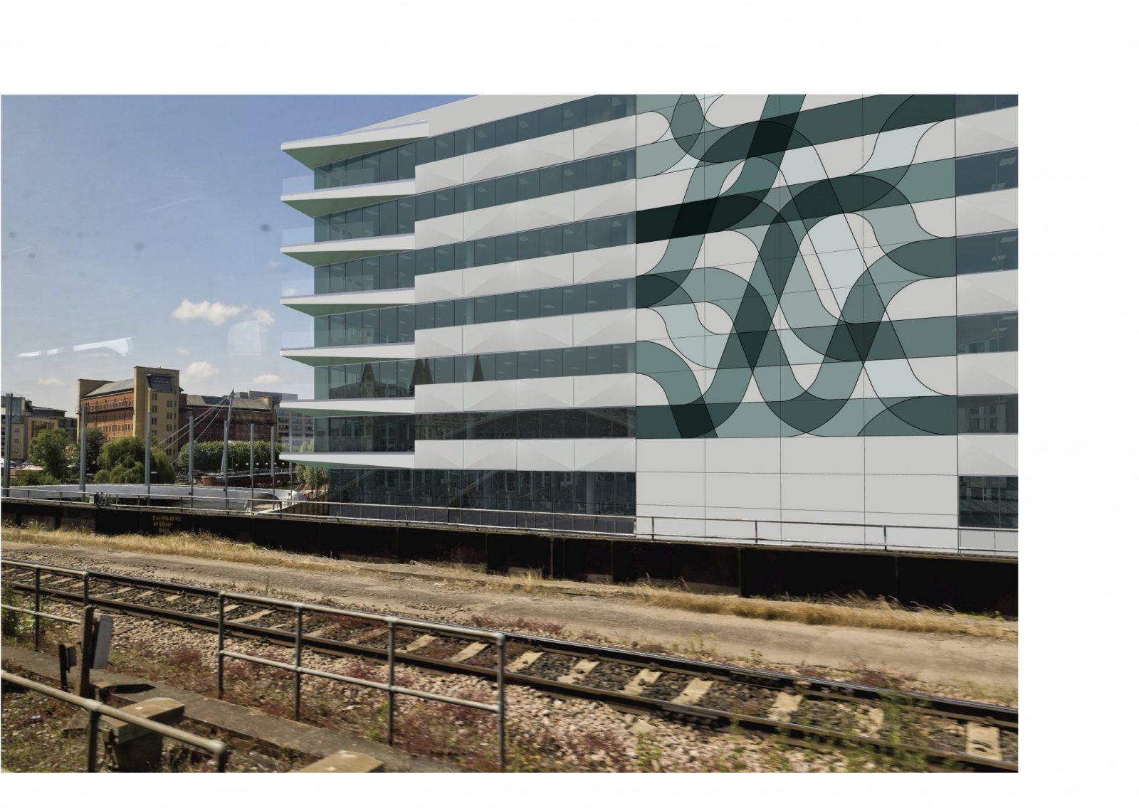 3 Glass Wharf, Bristol - Public Artwork installation by Terry Haggerty