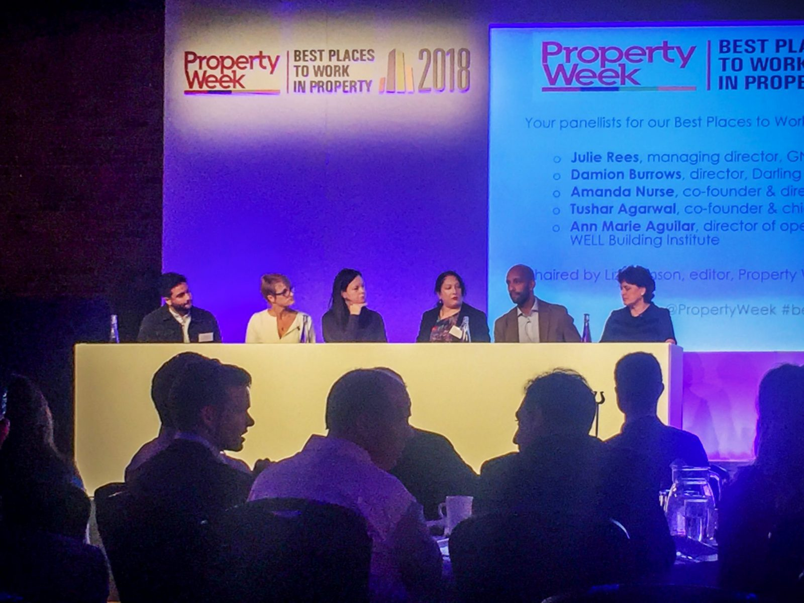 Property Week Best Places to Work In Property 2018 - Gala Lunch and Debate