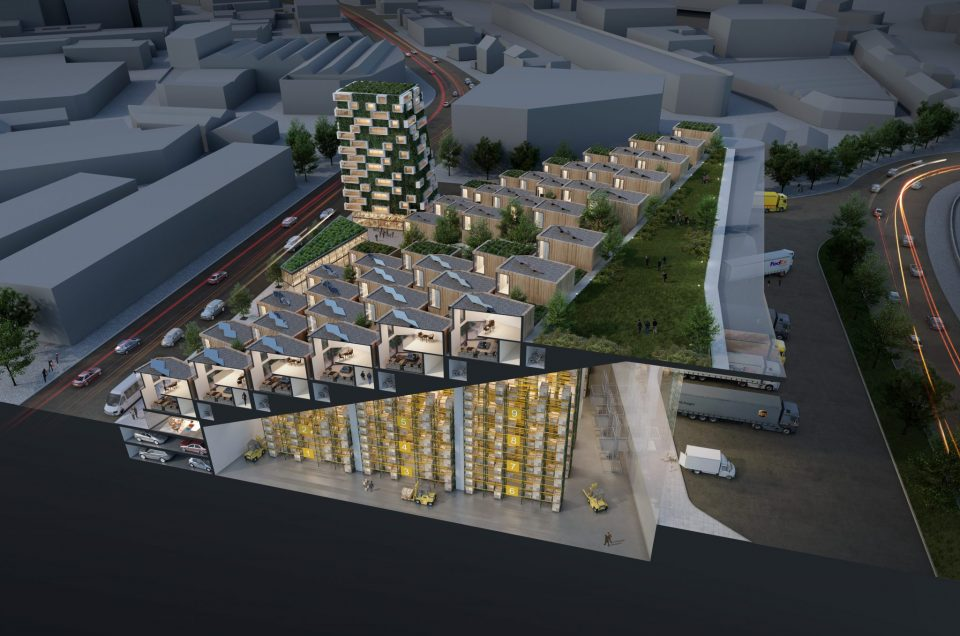 The Wedge: A vision for an ultra-urban logistics and residential hybrid