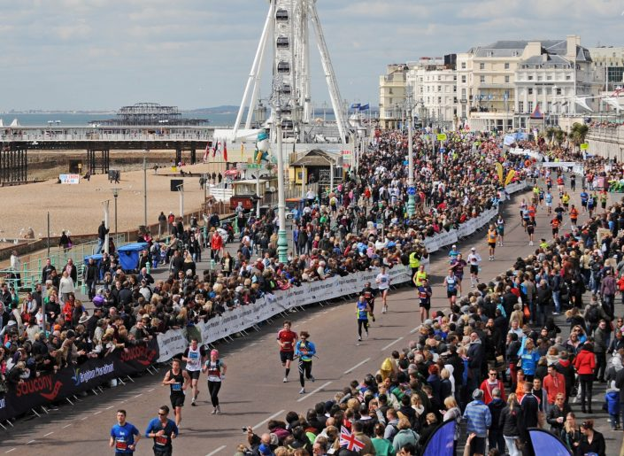 Kate Jones completes Brighton Marathon