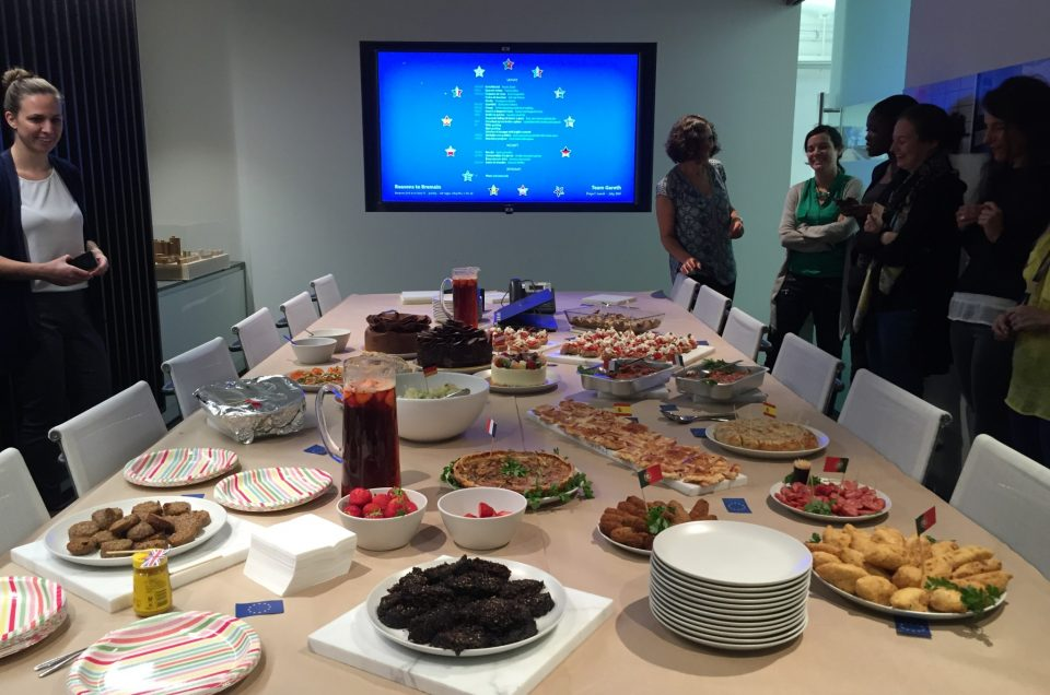 Team Lunch: Reasons to Bremain