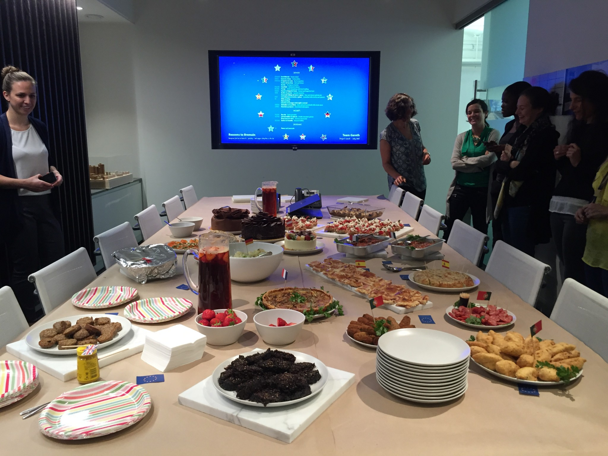 DA team project lunch