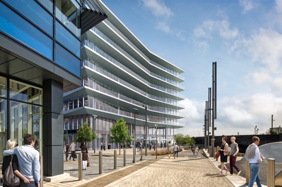 Work commences on 3 Glass Wharf