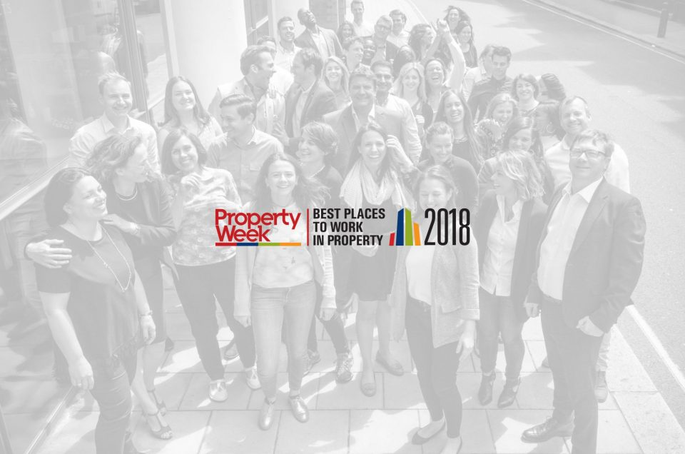 Darling Associates named one of the Best Places to Work in Property 2018