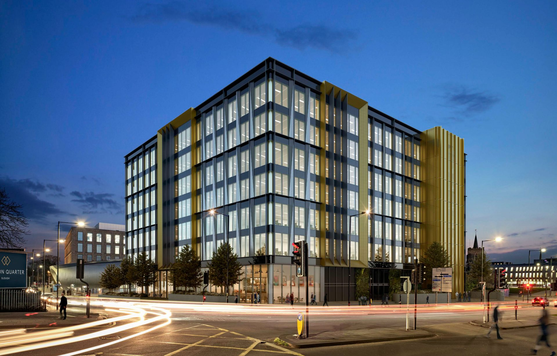 Station Quarter, Slough by Darling Associates